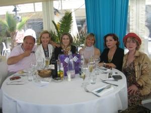 Cannes Beverly Dejeuner Croisette Beach 18 mai 2012 003