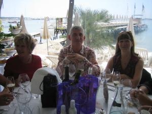 Cannes Beverly Dejeuner Croisette Beach 18 mai 2012 009