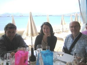 Cannes Beverly Dejeuner Croisette Beach 18 mai 2012 017