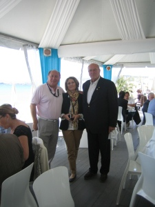 Cannes Beverly Dejeuner Croisette Beach 18 mai 2012 023